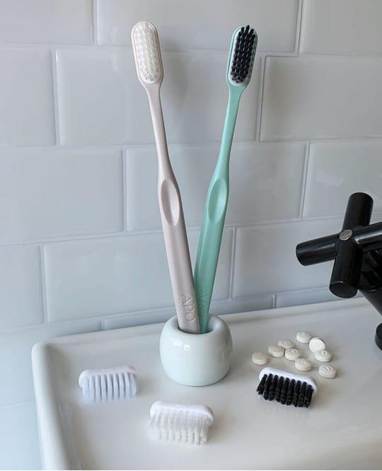 Brosse à dents rechargeable (1 manche + 2 têtes)