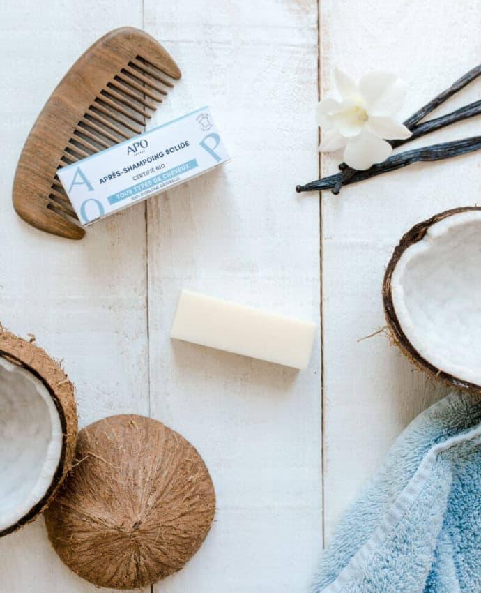 Après-shampoing solide - barre démêlante - 50g