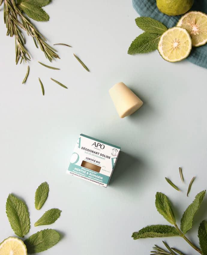 Organic Solide Deodorants - Freshness - 25g