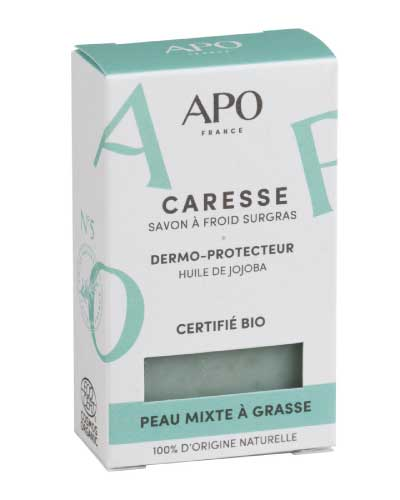 savon bio naturel caresse